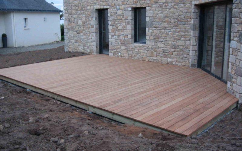 terrasse bois locmine