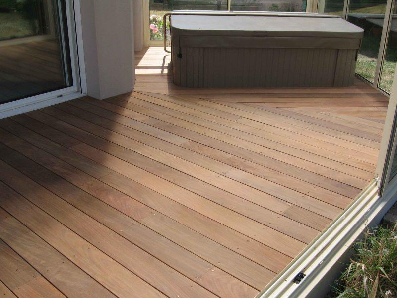 terrasse bois ploemeur