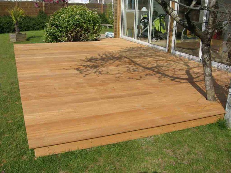 terrasse bois pluneret