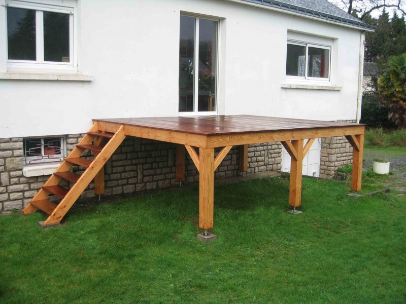 terrasse bois pontivy