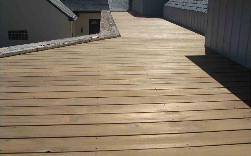 terrasse bois theix