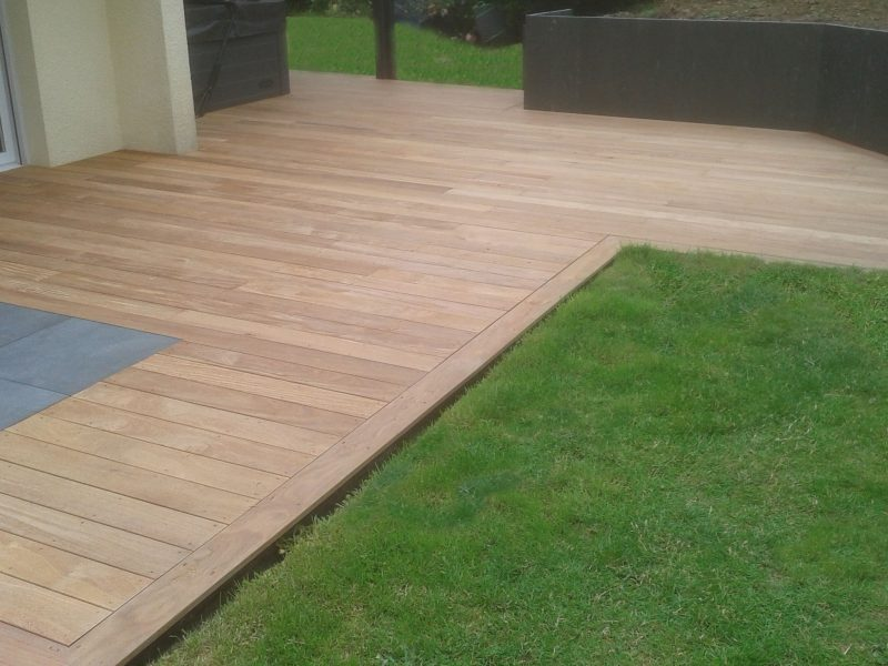 terrasse bois vannes